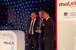 QEII Centre, awards, winner