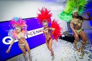 Carnival Girls QEII Centre Reception