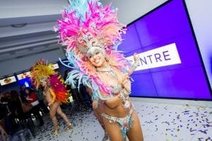 Carnival Girls Reception