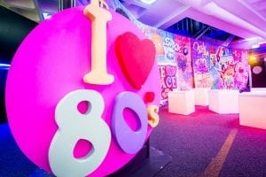 I love the 80s - Creative Event Production