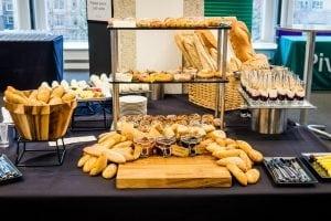 QEII Taste Breakfast Display