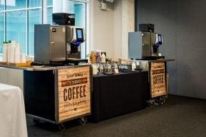 QEII Taste Coffee Display