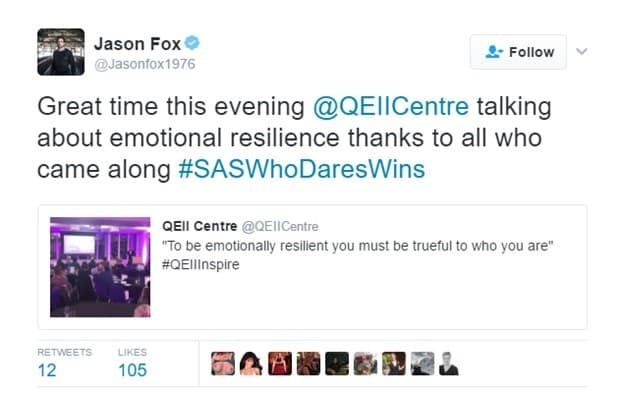 Jason fox tweet
