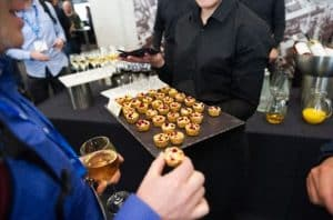 GCE, Catering, Canapes