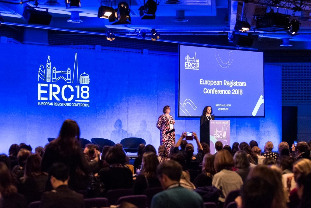 European Registrars Conference - Main Stage