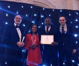 QEII celebrates Business Brilliance Awards 2019 wins